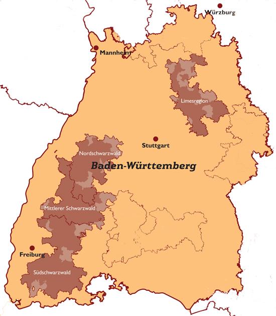 Gemeinden Regionen